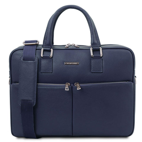 Treviso - Leather laptop briefcase | TL141986 -  www.sanroccoitalia.it - Leather laptop bags