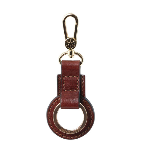 Leather key holder | TL141923 -  www.sanroccoitalia.it - Men leather accessories