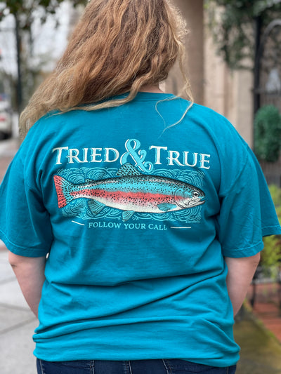 Teal Trout Comfort Color Tee