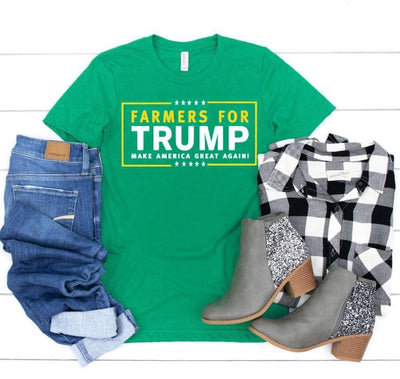 Farmers for Trump Tee