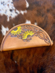 Leather Taco Clutch