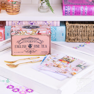 Tea and Notecards Gift Bundle - English Breakfast