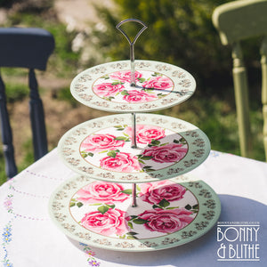 Princess Rose Picnic Cake Stand