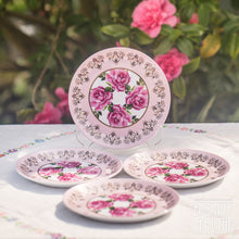 Load image into Gallery viewer, Princess Rose Picnic Plates