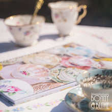 Load image into Gallery viewer, Vintage Teacups Spiral Notebook