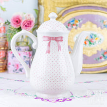 Load image into Gallery viewer, Churchill Vanity Fayre Pink Ribbon Coffee Pot