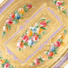 Load image into Gallery viewer, Florentine Tray Oval Small - Lilac