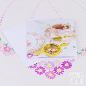 Notecards Rose Tea