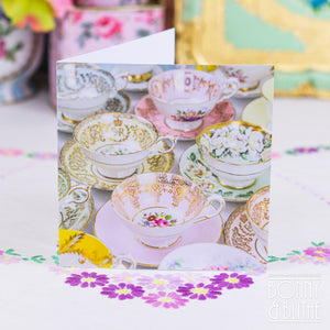 Notecards Vintage Teacups