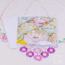 Load image into Gallery viewer, Notecards Vintage Teacups
