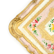Load image into Gallery viewer, Florentine Tray Rectangle Medium  - Pink