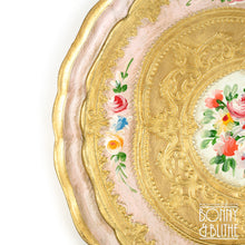 Load image into Gallery viewer, Florentine Tray Round Medium - Pink