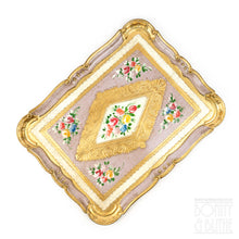 Load image into Gallery viewer, Florentine Tray Rectangle Large - Lilac