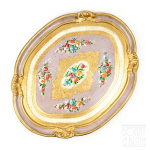 Florentine Tray Oval Large - Lilac