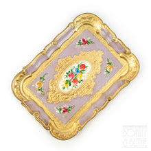 Load image into Gallery viewer, Florentine Tray Rectangle Small - Lilac