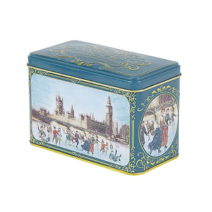 Victorian Skaters Christmas Tea Tin 40 Teabags
