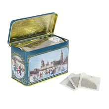 Load image into Gallery viewer, Victorian Skaters Christmas Tea Tin 40 Teabags