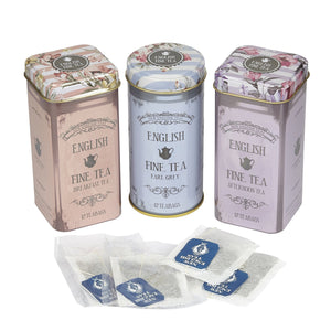 English Fine Tea - Mini Tins Teabag Gift Set
