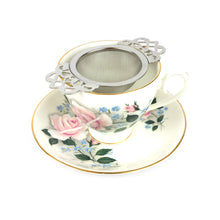 Load image into Gallery viewer, Empress Tea Strainer - Silver Colour