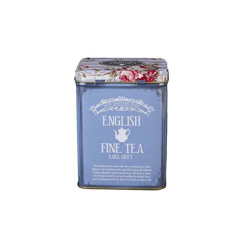 English Fine Tea Tin - Loose Leaf Earl Grey