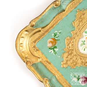 Florentine Tray Rectangle Small - Green