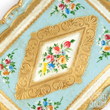 Load image into Gallery viewer, Florentine Tray Rectangle Large - Blue