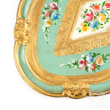 Load image into Gallery viewer, Florentine Tray Oval Small - Green