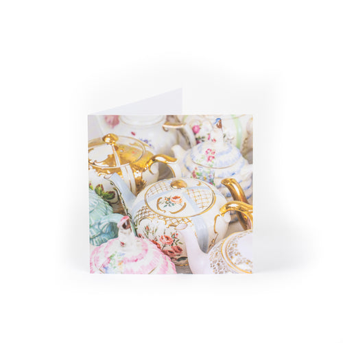 Notecards Vintage Teapots