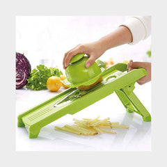 Vegetable Cutter with 5 Stainless Steel Blade
