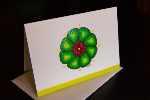 Hikuri in Flower   ~    Greeting cards