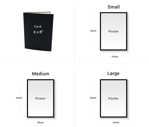 Size Of Paperkami Products