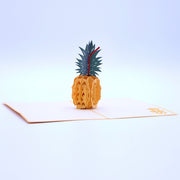 Pineapple Pop Up Card - Yellow