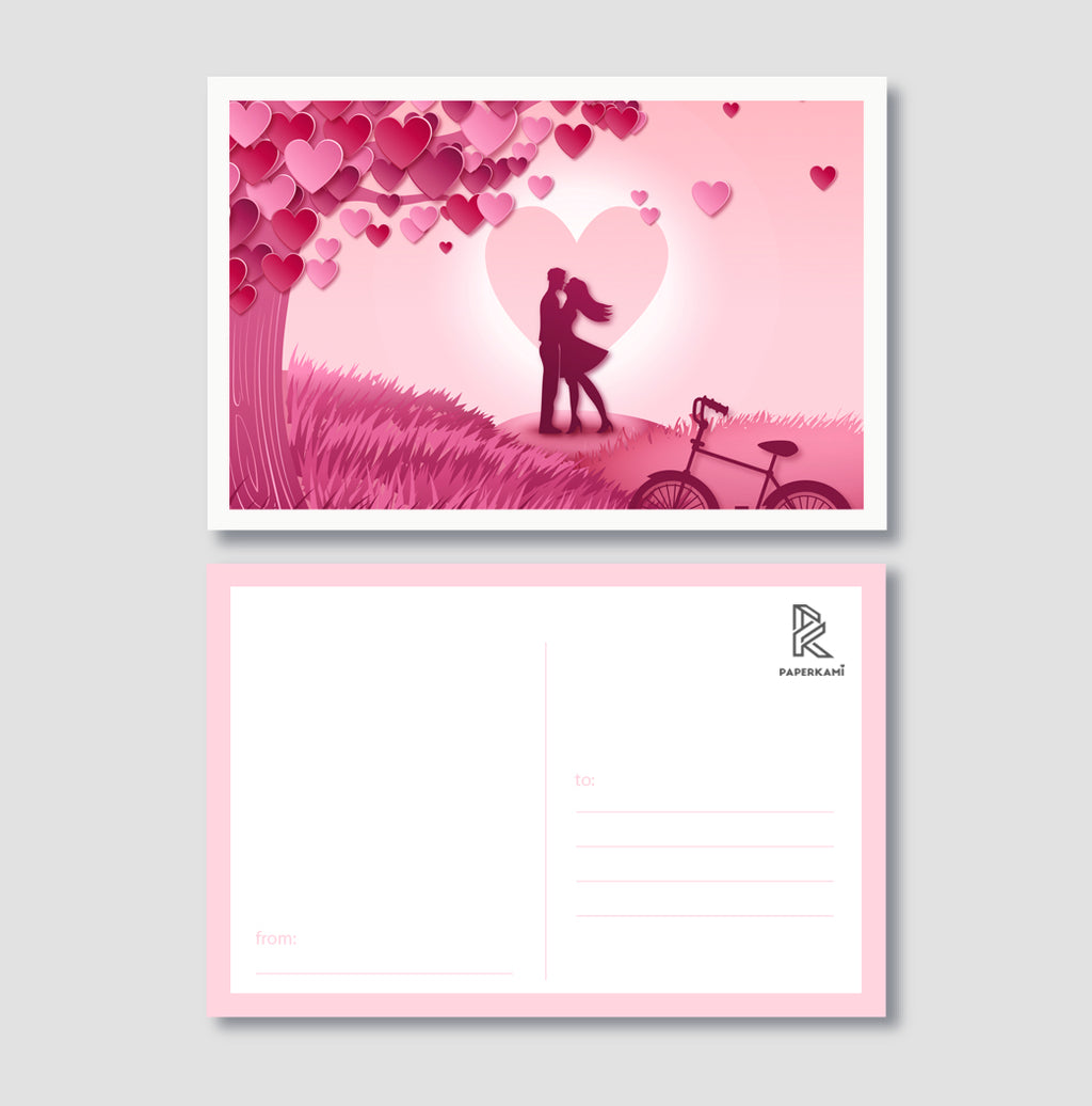 Couple In Love Post Card - Unique Gift