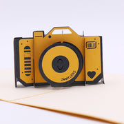 Custom Picture Camera Greeting Card
