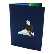 Wishing Success Greeting Card, Eagle Motif - paperkami