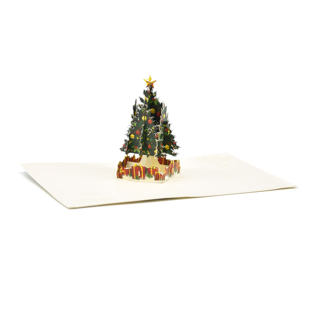 Christmas Tree Pop Up Greeting Card