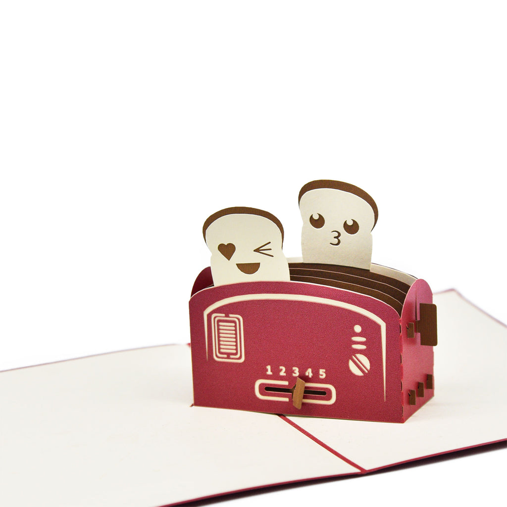 Love On Toast Greeting Card