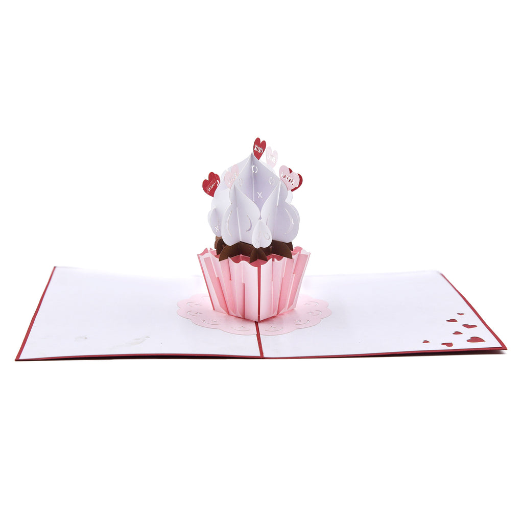 Love Cupcake Valentine's Day Greeting Card