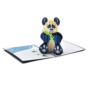 Panda Hug Greeting Card