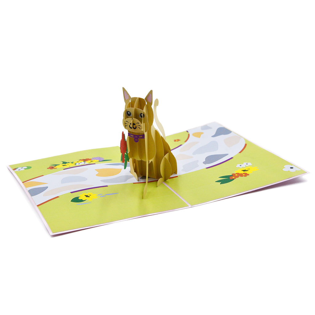 Love Kitten Pop Up Card