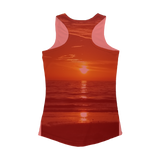 Sunsets Women Performance Tank Top