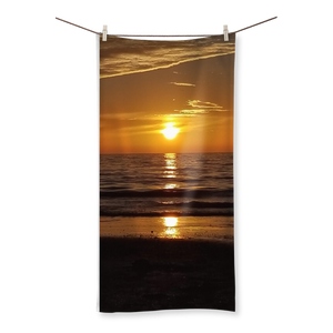 Sunsets Sublimation All Over Towel
