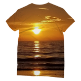 Sunsets Classic Sublimation Women's T-Shirt