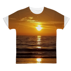 Sunsets Classic Sublimation Adult T-Shirt