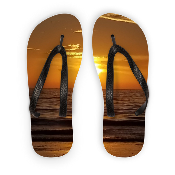 Sunsets Kids Flip Flops