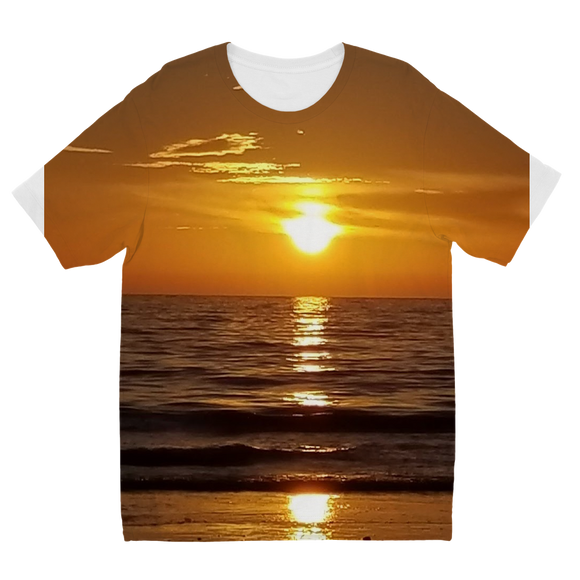 Sunsets Sublimation Kids T-Shirt