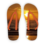 Sunsets Adult Flip Flops