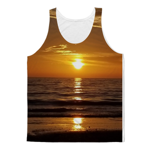Sunsets Classic Sublimation Adult Tank Top