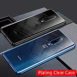 OnePlus 7 Pro Case Plating Soft Clear Slim Phone Cover For One Plus 7 Pro OnePlus 7 7Pro Coque Fundas