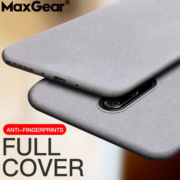 Matte Sandstone Silicone Phone Case For Oneplus 7 Pro 5T 5 3 One Plus 6T 6 Oneplus7 Soft Frosted TPU Skin Cover Coque Protection